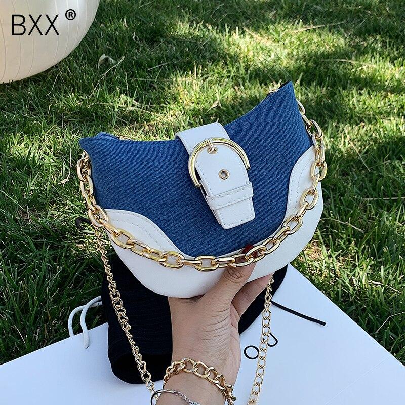 BXX, bandoleras de piel PU pequeñas y sencillas para mujer, bolsos de moda de verano 2020 y bolso de mano de viaje para mujer HM906 Bolso para mujer 2019 nuevo estilo coreano bolso de mano de moda bolso de lona bolso bandolera