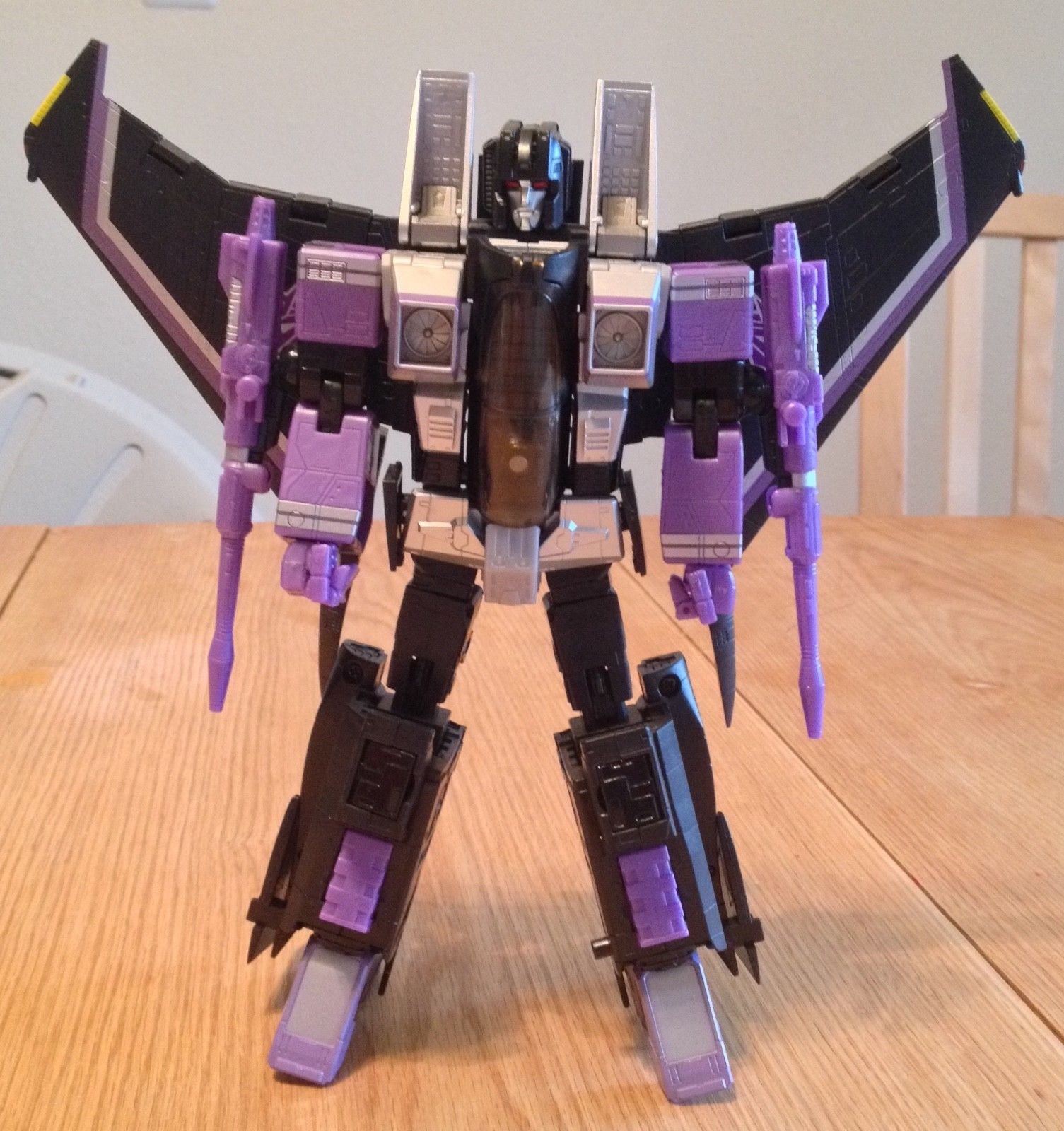 Yes Model YM01 MP11-SW Skywarp Transformation TF Action Figure BB7