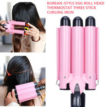 Professional Hair Tools Curling Iron Ceramic Triple Barrel