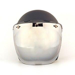 Image 2 - Ретро мотоциклетный шлем, Винтаж, Пузырьковые линзы, струйный пилотный шлем, козырек, мотоциклетный шлем, шлемы, Пузырьковые козырьки, очки