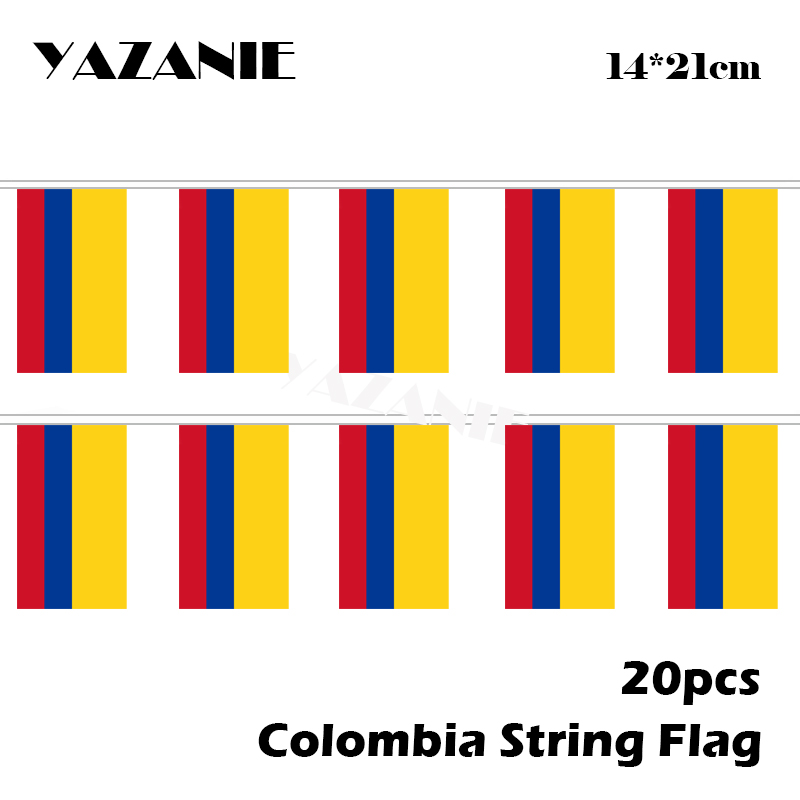 MADE IN COLOMBIA Colombian National Flag CUSTOM BARCODE NUMBERS T-shirt Y81