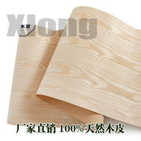 L:2.5Meters Width:600mm Thickness:0.25mm Natural Ash Veneer Kraft Paper Ash Wood Ash Pattern Veneer Ash Veneer Veneer Solid Wood|Furniture Accessories|   -