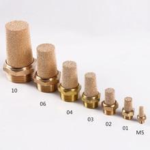 Pneumatic solenoid valve muffler…