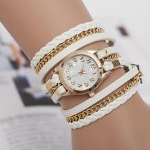 Women Wrist Bracelet Watch Fashion Trendy Charms Vintage Female Quartz Watches Gift Montre Femme