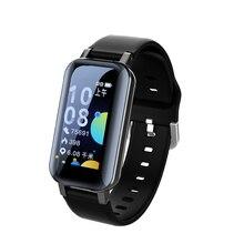 T89 Pro TWS Binaural Wireless Bluetooth 5.0 Sports Smart Watch Blood Pressure Message Reminder Wristband Bracelet