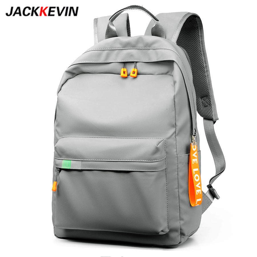 JackKevin Waterproof Nylon Backpack for Women Lightweight College Laptop Backpack Female School Bag for Teenage Girls Mochilas image