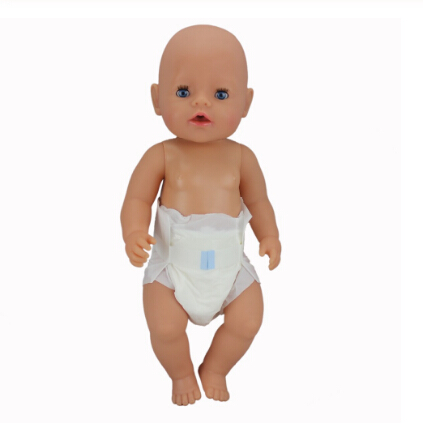Diapers Doll Clothes Fit 17 Inch 43cm Doll Clothes Born Baby Doll Clothes Suit For Baby Birthday Festival Gift