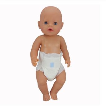 Pieluchy ubranka dla lalki Fit 17 cal 43cm ubranka dla lalki urodził się ubrania dla lalki ubranka dla lalki garnitur dla urodziny dziecka festiwal prezent tanie i dobre opinie ZISHWAW Cloth CN (pochodzenie) Unisex Moda Akcesoria Suit Akcesoria dla lalek