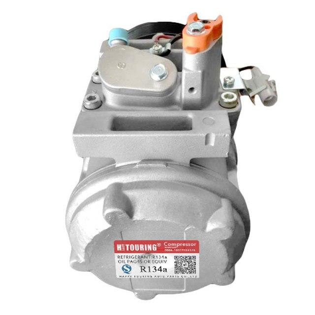 For Car Toyota Coaster bus toyota mini bus AC Compressor 10P30C 447220-1472 447300-0611 4472201472 4473000611 24V / 12V 7PK