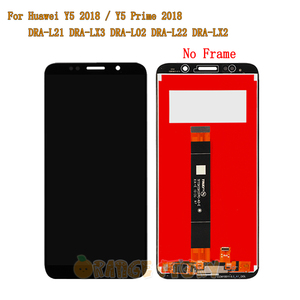 "Image 3 - 5.45"" For Huawei Y5 Prime 2018 DRA LX2 Full LCD Display Touch Screen Sensor Glass Frame For Y5 2018 DRA L21 DRA L01 LCD Screen"