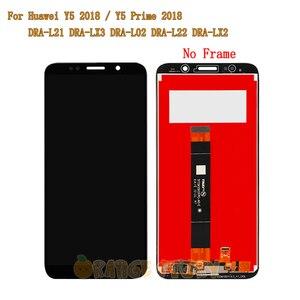 """Image 3 - 5.45 """"pour Huawei Y5 Prime 2018 DRA LX2 plein écran LCD écran tactile capteur cadre en verre pour Y5 2018 DRA L21 DRA L01 écran LCD"""
