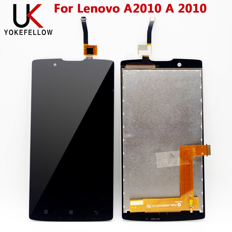 LCD Display For Lenovo A2010 A 2010 Full LCD Display Screen with Touch Sensor Complete Assembly|Mobile Phone LCD Screens| |  - title=
