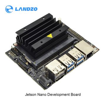 Jetson nano developer kit mały potężny komputer do wsparcia rozwoju sztucznej inteligencji z wieloma sieciami neuronowymi równolegle tanie i dobre opinie LANDZO Regulator napięcia Quad-Core ARM Cortex -A57 MPCore 128-core NVIDIA MaxwelITM GPU 4bit Soc @1 43GHZ 472 GFLOPs 4GB 64-bit(LPDDR4 256GB s)