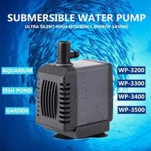 WP-3200 ~ 3500 Ultra Stille Tuin Aquarium Fish Tank Dompelpomp Filter Pomp Kleine Water Pomp Mini Pomp Hot koop