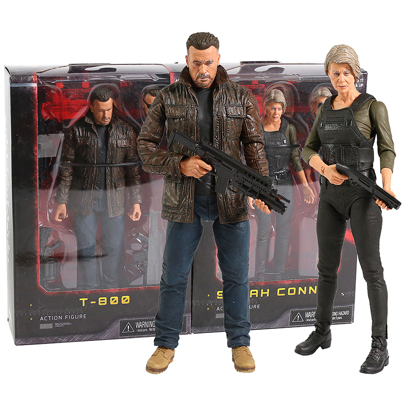 Terminator T-800 Dark Fate Sarah Connor Action Figure Collectible Model Toy Gift