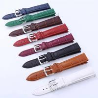 12 14 16 18 20 22 24 mm Uhr Strap Echtem Uhr Band Uhr Zubehör 1PC Hohe Qualität Leder uhr Gürtel Armband
