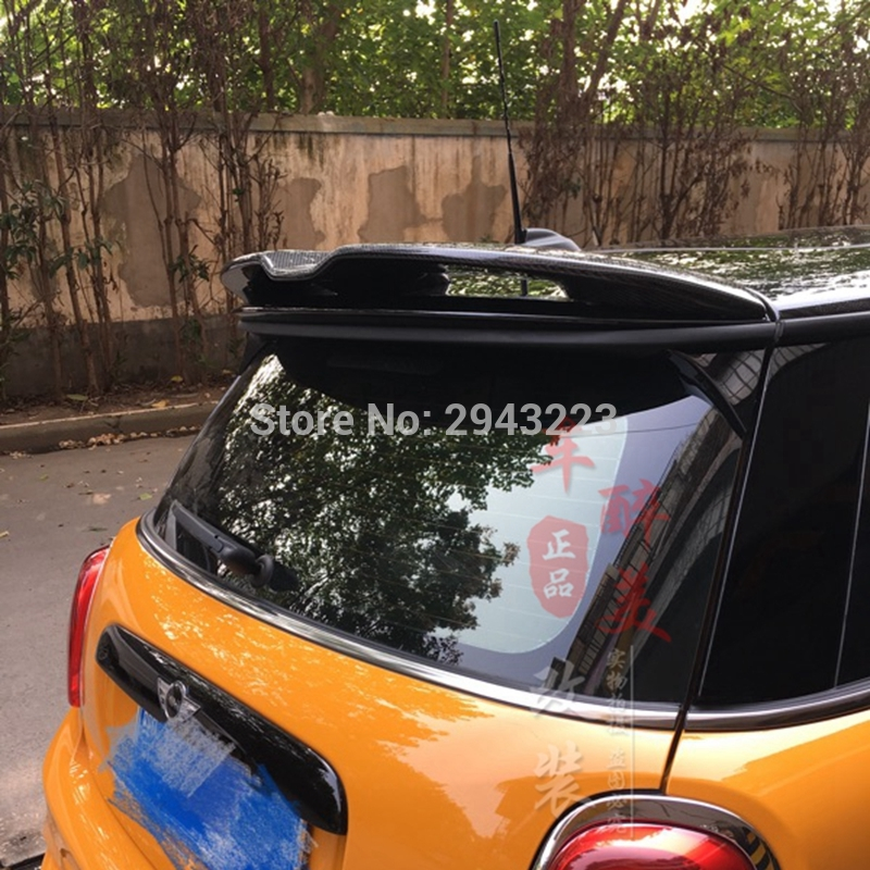 FOR CARBON FIBER 02-06 Mini Cooper Cooper S R50 R53 REAR WING HATCH ROOF SPOILER