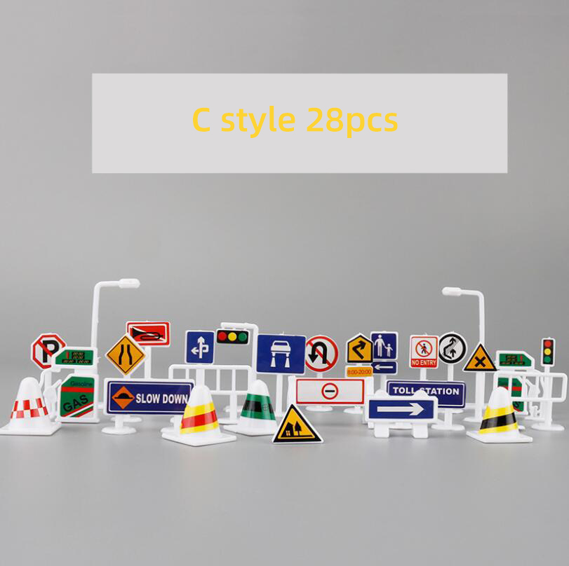28pcs sign C