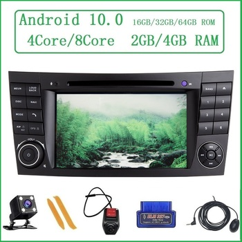 ZLTOOPAI For Mercedes Benz E-Class W211 E300 CLK W209 CLS W219 Multimedia Player Android 10 Auto Radio FM DVD CD Media Player image