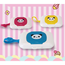 Hot Cute Outdoor Travel Baby Newborn Kids Wipes Case Wet Wipe Box Dispenser For Stroller Portable Rope Lid Covered Tissue Boxes недорого