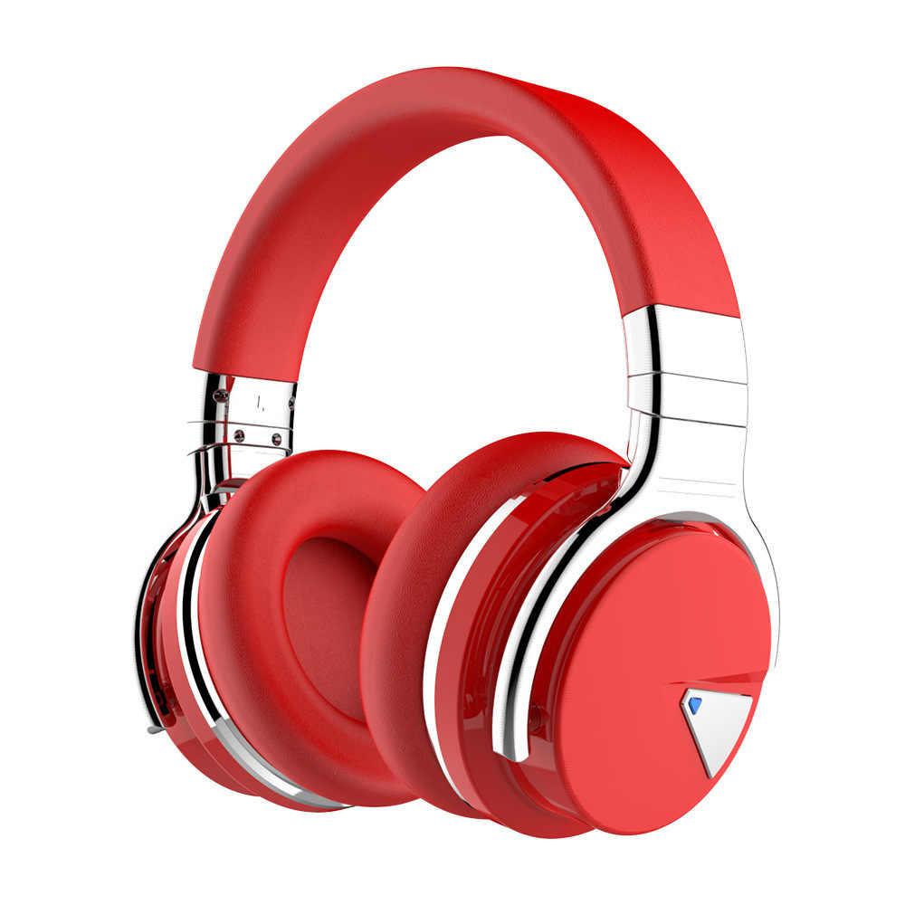 Yulass słuchawki douszne bezprzewodowe niebieski moda izolacja akustyczna z redukcją szumów duży słuchawki mężczyźni kobiety Bluetooth słuchawki gamingowe