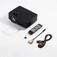 E08 LCD Projector The Same Screen Home Cinema Movie Portable Projectors HDMI/USB/AV/TF/VGA 1000:1 30 120 inch 50w|Conference System| |  -