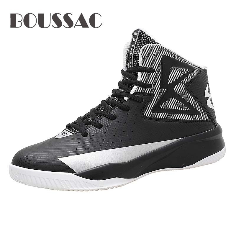 BOUSSAC Hot sale Unisex Professional Basketball Shoes Men Damping Sneakers Girls Students Training Match Ball shoes