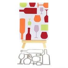 1 шт трафареты для декорирования винных бутылок
