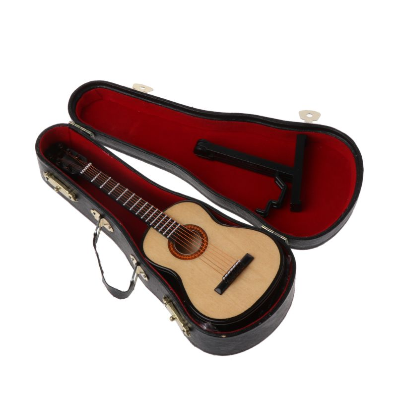 Newborn Baby Photography Props Guitar Instrument Infant Studio Shooting Photo Prop Y4QA