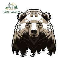 EARLFAMILY 13cm For The Bear Car Bumper Window Stickers Repair Decal Vinyl Car Wrap Motorcycle Sunscreen Decoration