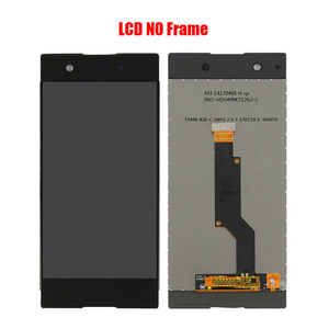 Image 2 - For Sony Xperia XA1 G3116 G3121 G3112 G3123 G3125 LCD screen assembly with front case touch glass,With repair parts LCD Display