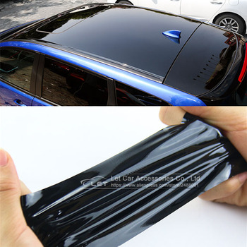 pearl gloss metallic blue vinyl for car wrap midnight blue glossy film with air bubble free car stickers size 1 52 20m roll Bright Black Red White Glossy Black Vinyl Car Decal Wrap Sticker Black Gloss Film Wrap Retail For HOOD Roof Motorcycle Scooter