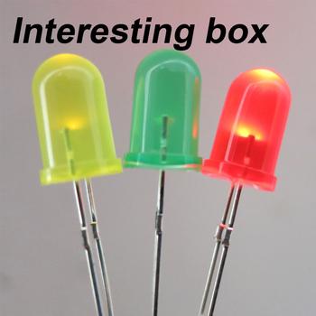 5mm kolor led LED dioda emitująca światło diy handmade LED części lampy produkcja elektroniczna model lampy tanie i dobre opinie