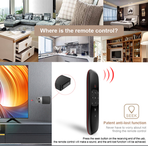 Image 3 - W2 Voice Remote Control 2.4G Wireless Keyboard Air Mouse IR Learning Microphone Gyroscope for Android TV Box H96 MAX X3 X88 Pro