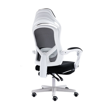 Эргономика компьютерного офиса, кресло, лежащий домашний босс, обеденный стул, поворотный ножной упор, символ медведя