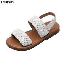 TriUrsus Designer Brand Kids Shoes 2020 Summer Children Todd
