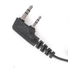 walkie talkie in ear hook baofeng radio earphone with ptt earpiece k port uv 5r Unilateral headphones for protable radio headset