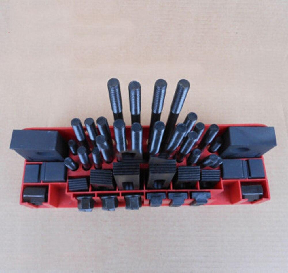 Качество металла Metex фрезерный станок зажимной набор M12 58 шт. мельница зажим комплект тиски, зажимной инструмент