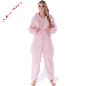 Image 3 - Winter Warm Pyjamas Women Plus Size Sleepwear Female Kingurumi Teddy Fleece Pajamas Plush Flannel Pajamas Sets For Women Adults