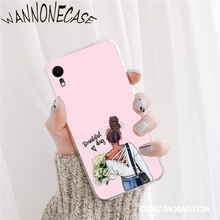 Shopping girl enjoying life Colorful Cute Phone Case For iPhone 8 7 6 6S Plus X XS MAX 5 5S SE XR 11 11pro promax Coque Shell shopping girl enjoying life colorful cute phone case for iphone 8 7 6 6s plus x xs max 5 5s se xr 11 11pro promax coque shell