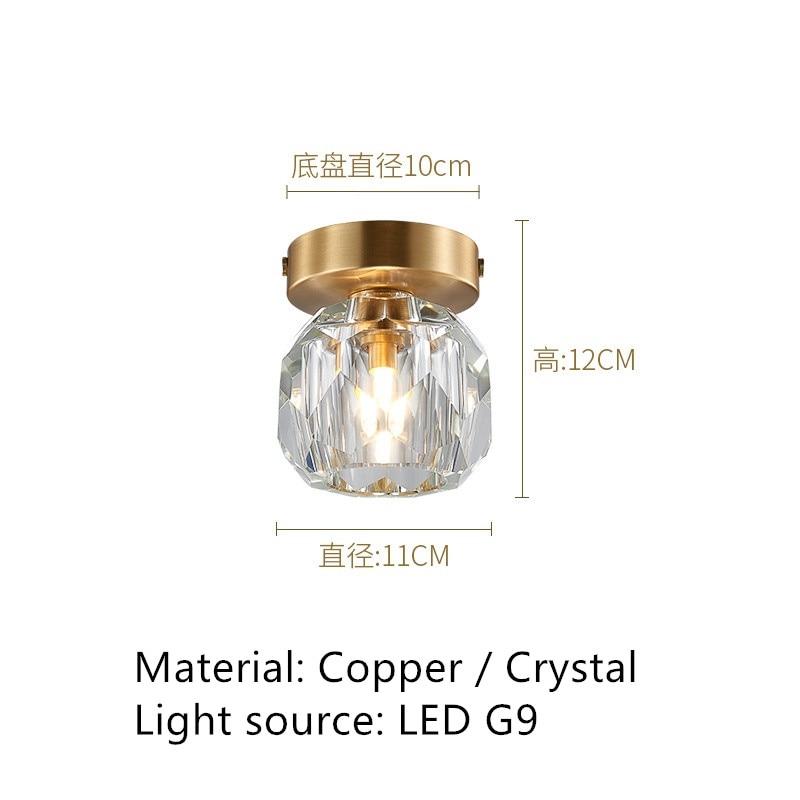 luz do corredor de cristal lampada 05