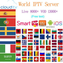 Spain iptv subscription m3u iptv Germany Italy Portugal For Android tv