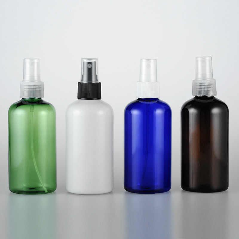 40pcs 220 ml สีน้ำตาล/สีขาว/สีฟ้าสเปรย์ขวด Liquid สเปรย์ขวดพลาสติก R24 เครื่องสำอางที่ว่างเปล่าขวด 220 CC รดน้ำแจกัน