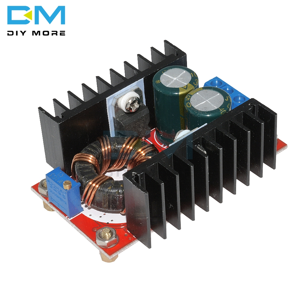 <font><b>DC</b></font>-<font><b>DC</b></font> Boost Converter <font><b>DC</b></font> <font><b>DC</b></font> <font><b>Step</b></font> <font><b>Up</b></font> Converter Module Adjustable Static Power Supply Voltage Regulator Module <font><b>150W</b></font> 5V image