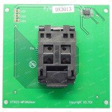 Darmowa wysyłka 100% oryginalny nowy Adapter DX3013 dla XELTEK SUPERPRO 6100/6100N programator DX3013 gniazdo