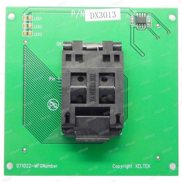 Il Trasporto Libero 100% Originale Nuovo DX3013 Adattatore per Xeltek Superpro 6100/6100N Programmatore DX3013 Presa