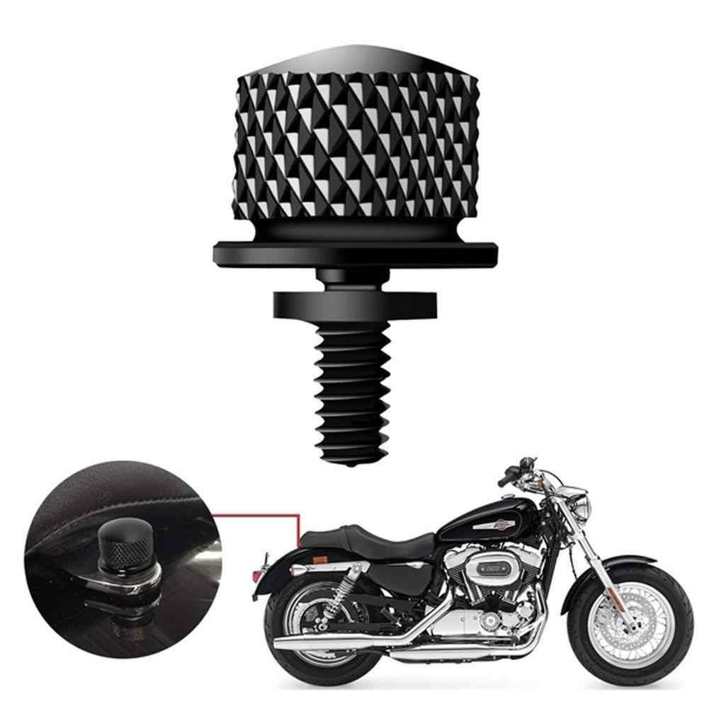 Universal Aluminium Sitz Bolzen Fender Schrauben Berg Knob Abdeckung Cap für Harley