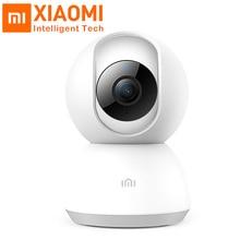 Оригинальная смарт-камера Xiaomi Mijia, 1080 P, HD, ночное видение, 360 градусов, для дома, панорамная, WiFi, IP камера, обнаружение движения, Xiomi Kamera