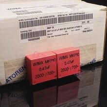 2PCS RED WIMA MKP10 0.47UF 2000V p37.5mm original new MKP 10 474/2000V audio 470nf 2KV film 474 1700VAC PCM37.5 hot sale
