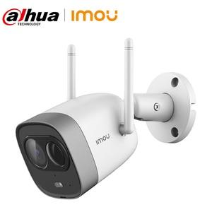 Dahua Imou New Bullet WiFi Camera Dual Antenna Waterproof Built-in MIC Speaker Active Deterrence PIR Detection Alarm IP Camera(China)